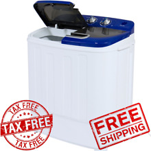 Quality Portable Mini Compact Twin Tub 13lb Washing Machine Washer Spin Dryer