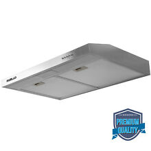 30  Stainless Steel Under Cabinet Range Kitchen Hood Stove Vent Fan Panel