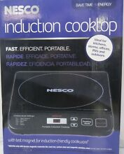 Brand New  Nesco PIC 14 Portable Induction Cooktop  1500 watt