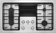 Frigidaire 36  Gas Cooktop with Built in Downdraft Ventilation