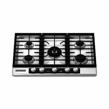KitchenAid 30  5 Burner Gas Cooktop Stainless Steel Architect Series II KFGU706V