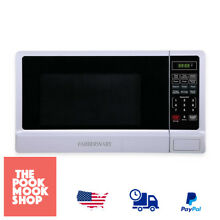 Classic 1 1 Cubic Foot Microwave Oven White Countertop Electric Heating  Kitchen
