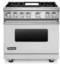 Viking 7 Series 36  Freestanding Range VGR73616BSS with FREE VIKING DW or MICRO