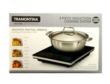 Tramontina Induction Cooking System 3 Piece 4qt Pan   Portable Induction Cooktop