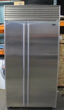 Sub Zero 42  Built In Side By Side Refrigerator Freezer  Model 642S