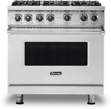 Viking 5 Series 36  Freestanding Range VGR5366BSS FREE MICRO OR DISHWASHER