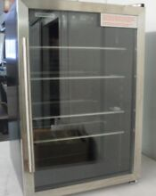 Tramontina 126 Can Capacity S S  Trim Beverage Center Glass Door Refrigerator