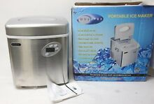 Whynter IMC 490SS Portable Ice Maker  49 Pound  Stainless Steel Free Shipping