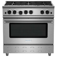 BlueStar RNB Series 36  Freestanding Gas Range RNB366BV2NG