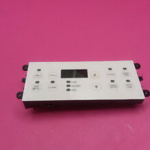 USED FRIGIDIARE FREE STANDING ELECTRIC RANGE WHITE CONTROL BOARD 316101008
