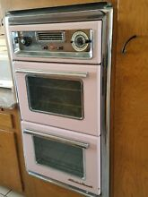 Vintage wall oven