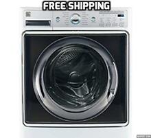 Kenmore Smart 5 2 cu ft FrontLoad Washer SmartPhone Controlled White Stand Alone