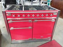 AGA 48  Scarlet Red Elise Dual Fuel Gas Range AMC48DF SCA