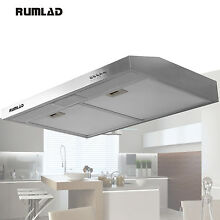 30  Stainless Steel Under Cabinet Range Hood Stove Vent Fan Kitchen Cooking