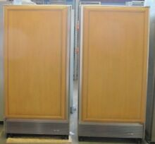 Sub Zero 72  Side By Side Refrigerator Freezer 601R and 601F Columns