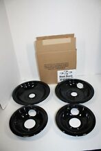 Whirlpool Stove Black Burner Bowls Top Electric Range Replacement W10288051