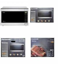 Panasonic 2 2 Cu Ft 1250w Smart Touch Sensor Microwave Oven Stainless Steel US