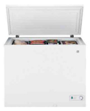 GE Chest Freezer  7 cu  ft  Adjustable Temp Control 2 Baskets or Haier 9 2 cu ft