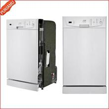 New 18  Sunpentown Energy Star Built In Dishwasher with Stainless Steel Interior