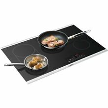 Bosch 30  800 Series Black SS Electric Radiant Cooktop NET8066SUC