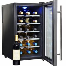 Wine Cooler 18 Bottle AW 181E Chiller Fridge Digital Thermoelectric Refrigerator