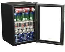 84 Can Stainless Steel Beverage Cooler Drinks Chiller Bar Fridge Refrigerator