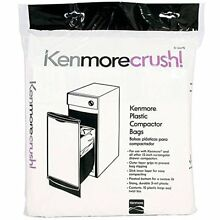 NEW Kenmore 13370 Trash Compactor Bag 10 pack FREE SHIPPING