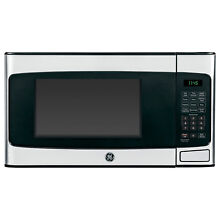 NEW  GE 1 1 cu  ft  Countertop Microwave Oven 950 Watt Stainless Steel Silver