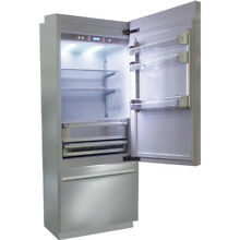 Fhiaba BKI30BI RS 30  Brilliance Counter Depth Freezer Refrigerator Stainless