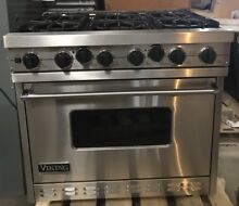 Viking VGSC366 6BSS 36  6 Burner Gas Range