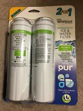 PURICLEAN II Filter 2 Pack  For  Whirlpol  Maytag  KitchenAid  Amana  Jenn Air