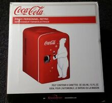 Coca Cola Personal Compact Refrigerator room counter top gift holiday