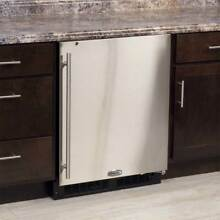 Marvel 24  SS ADA Under Counter Built In Refrigerator MA24RAS1RS