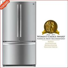 Kenmore 26 1 cu  ft  Non Dispense French Door Refrigerator Stainless Steel White