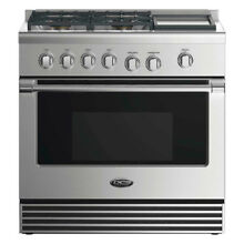 DCS 36  Freestanding Gas Range RGV2 364GD L Liquid Propane