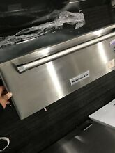 KitchenAid 27   Stainless Steel Warming Drawer  KOWT107ESS Slow Cook