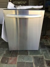 24in  Inch Dishwasher Kenmore  Built In Cleaner Stainless Steel