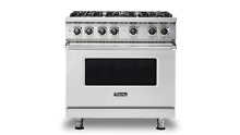 Viking 36  Gas Range VGR5366BSS with Free DW or Microwave