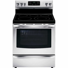 Kenmore 94193 5 4 cu  ft  Self Clean Electric Range with Convection Oven and Tur