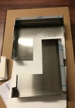 GE Stainless Steel 36  Over The Range Built In Microwave Oven Filler Kit JX36BSS
