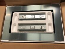 WHIRLPOOL 1 6 CU  FT  COUNTERTOP MICROWAVE TRIM KIT STAINLESS STEEL MK2167AS