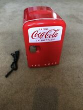 MINI COCA COLA CAN COUNTERTOP COMPACT FRIDGE COLD WARM KWC 4U