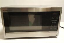 Sharp R 331ZS Microwave  1 1 cu ft  Stainless Steel  Standard  New