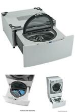 29  Wide Pedestal Washer Laundry Washing Machine Smart Motion Fabric Care Wash