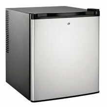 Culinair 1 7 Cubic Foot Compact Thermoelectric Refrigerator in Silver