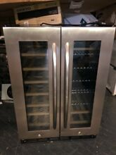 Insignia NS BC2ZSS8 42 Bottle 114 Can Dual Zone Wine Beverage Cooler PICKUP ONLY