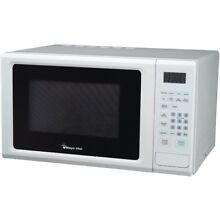 Magic Chef 1 1 Cubic ft 44  1 44 000 watt Microwave With Digital Touch  white