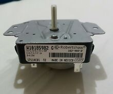 New W10185982 Genuine OEM Timer Dryer Whirlpool   ONLY TIMER
