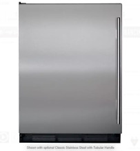 Sub Zero  UC24CI 24 Inch Built in Undercounter Refrigerator with ice maker