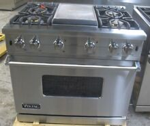 Viking Professional Custom Series  VGCC5364GSS 36 Inch Pro Style Gas Range